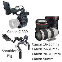Canon C300 with Canon Lenses