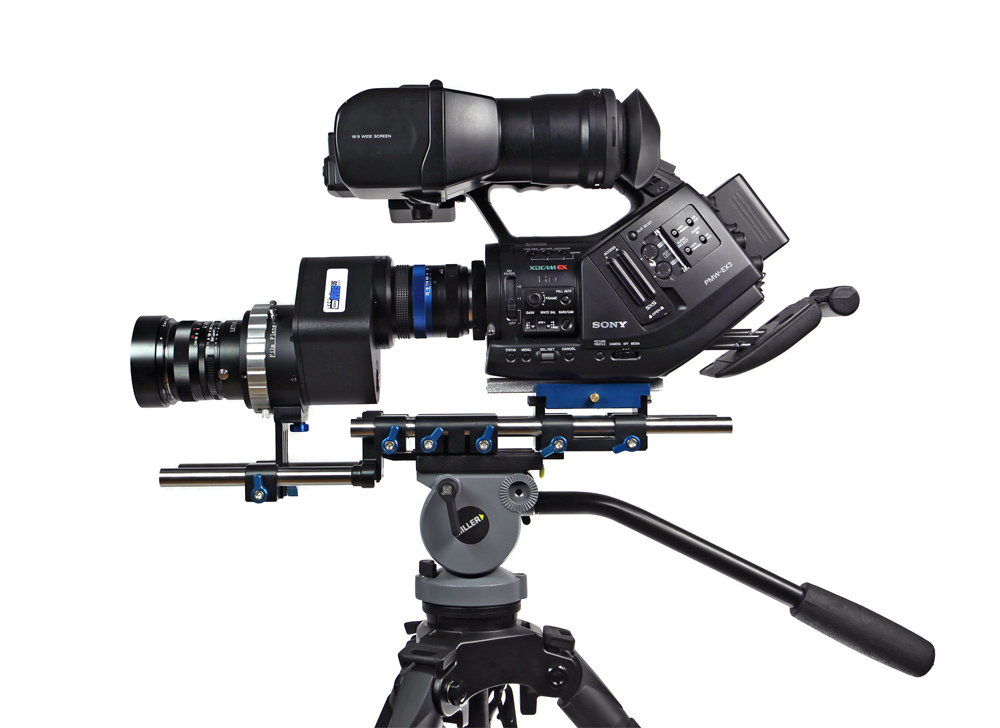 Sony EX 3 with 35mm adaptor