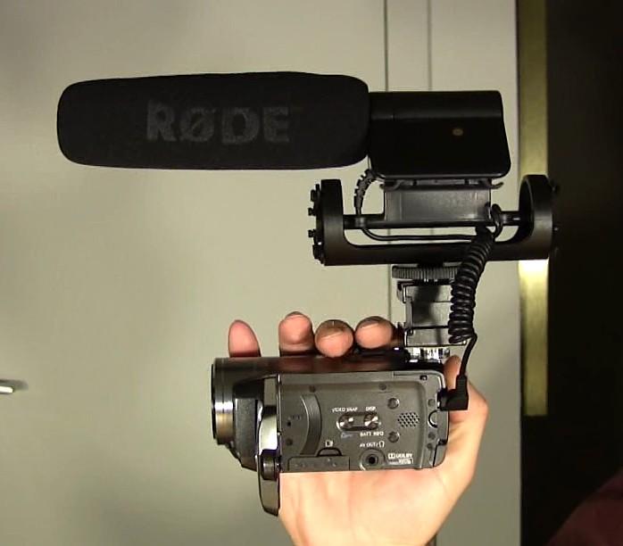rode mic handycam
