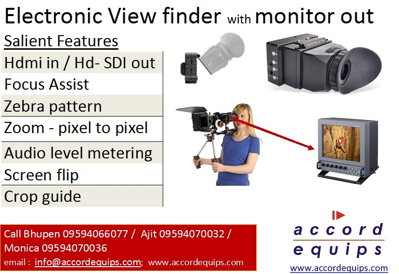 evf features