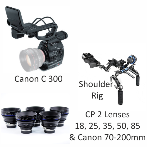 Canon C300 with CP2 Lenses