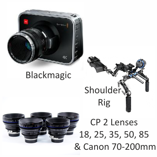 Blackmagic with CP2 lenses