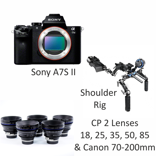 Sony A7S II with CP2 Lenses