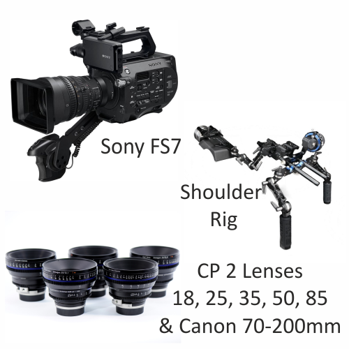 Sony FS 7 with CP2 Lenses