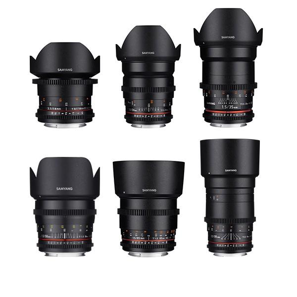 samyang cine lens kit