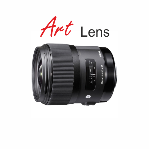 Sigma 35mm 1.4 ART Lens Canon Mount by Accord Equips