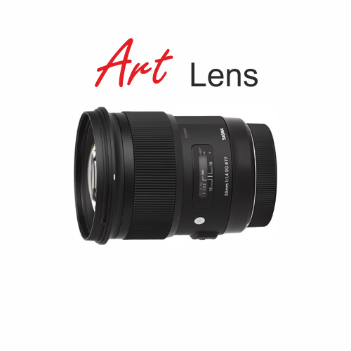 Sigma 50mm f1.4 ART Lens canon mount by Accord Equips