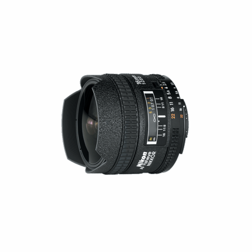 Nikkor 16mm FISHEYE lens F2.8 by Accord Equips