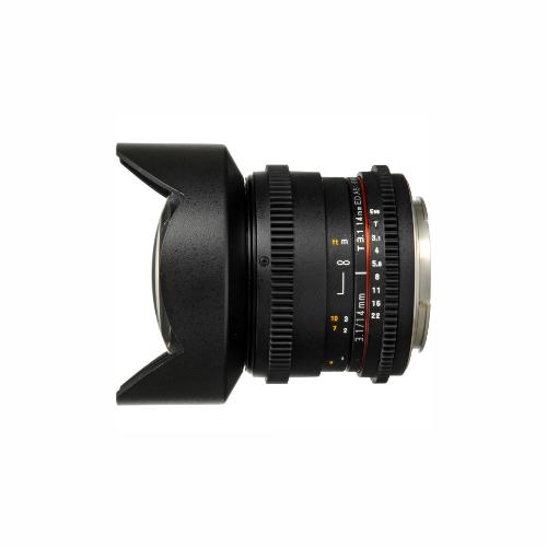 Samyang 14mm - T 3.1 EF Cine Lens by Accord Equips