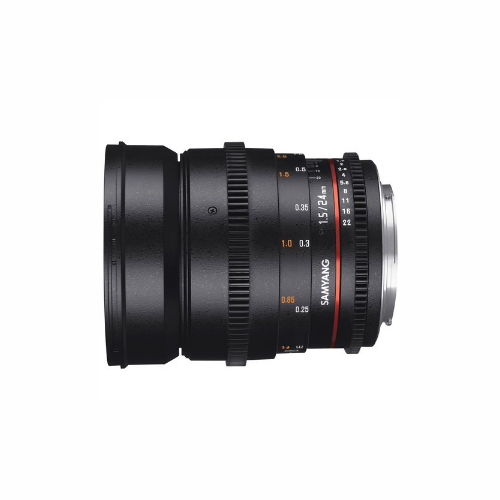 Samyang 24mm - T 1.5 EF Lens by Accord Equips