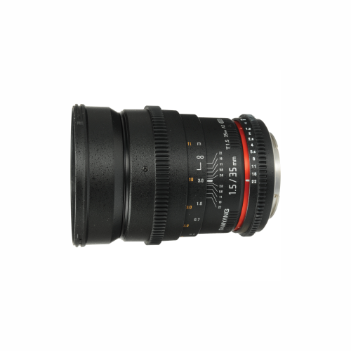 Samyang 35mm T 1.5 EF Lens by Accord Equips