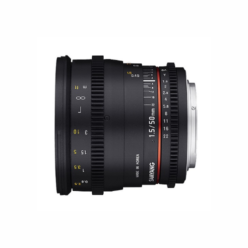 Samyang 50 Mm T 1.5 EF Lens by Accord Equips