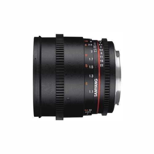 Samyang 85mm T 1.5 EF Lens by Accord Equips