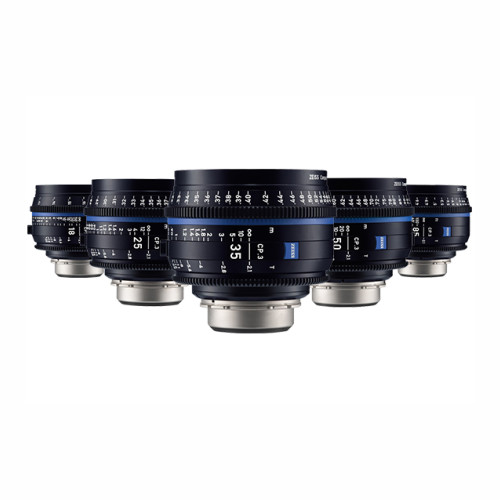 Zeiss CP3 Lens Kit (5 Lenses)