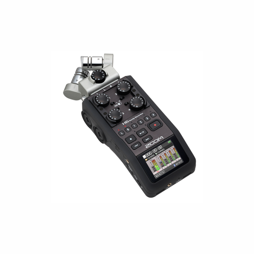 Zoom H6 handy Audio Recorder by Accord Equips