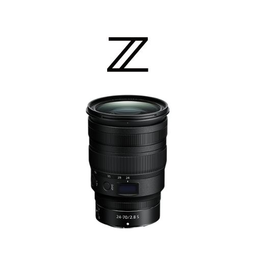 Nikon Z 24-70mm F2.8 S Lens Accord Equips