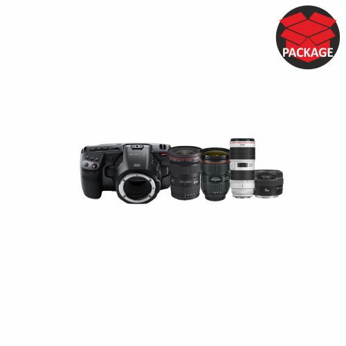 Blackmagic Pocket 6K with Canon Zoom Lenses
