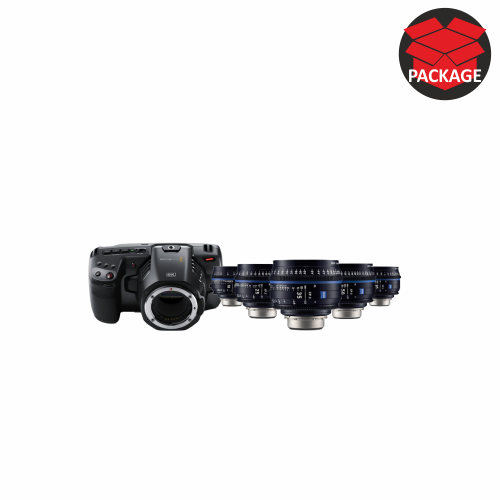 Blackmagic Pocket 6k with CP3 lenses
