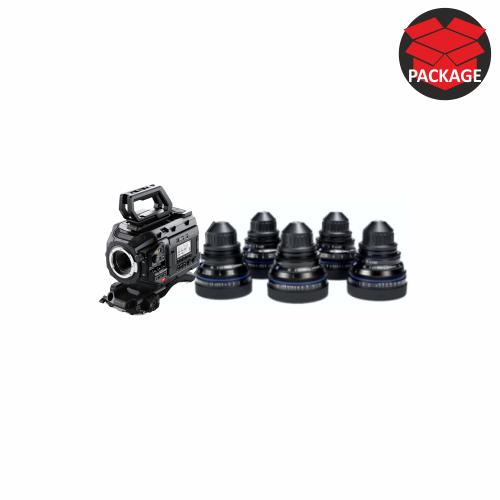Blackmagic Ursa Mini Pro 4.6k G2 Raw with CP2 Superspeed lenses