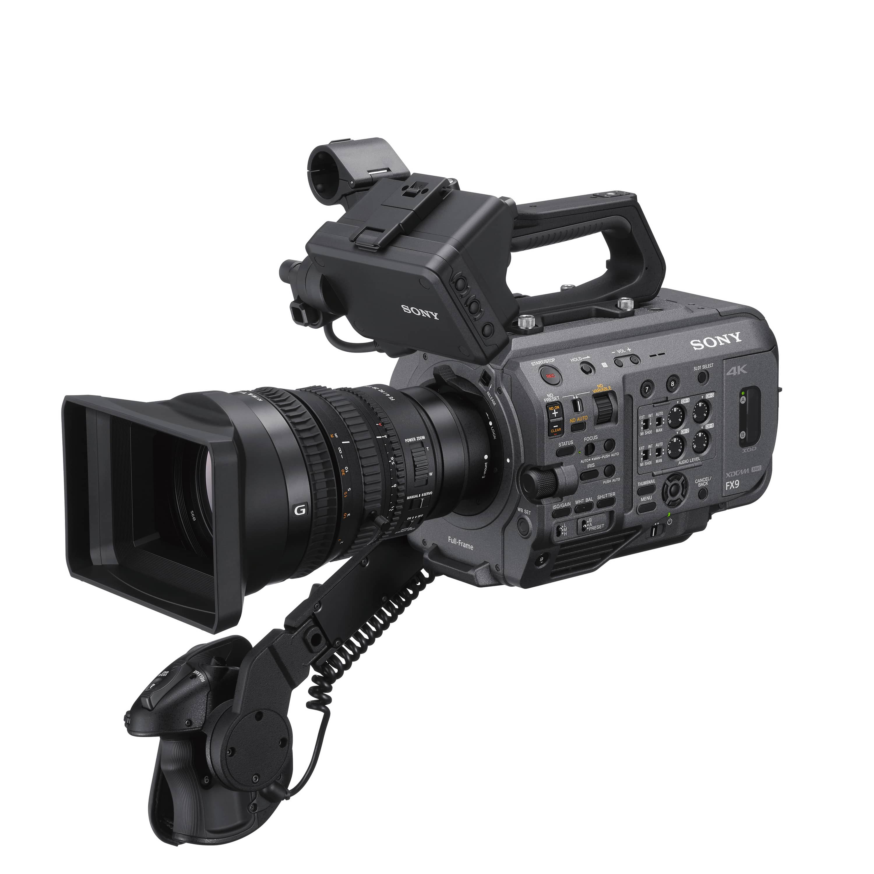 Sony FX9 rentals at accord equips